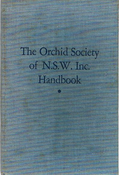 The Orchid Society of N.S.W. Inc. Handbook