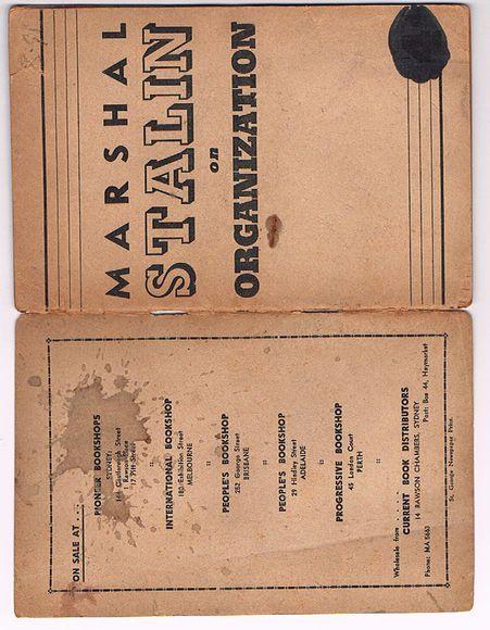 Marshal Stalin on Organization