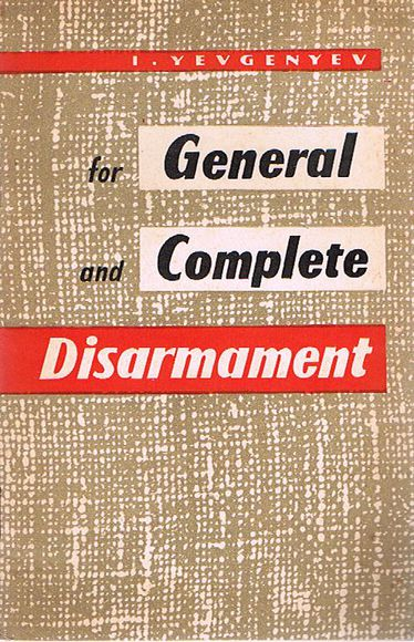 For General and Complete Disarmament