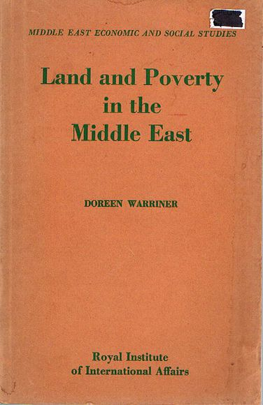 Land and Poverty in the Middle East
