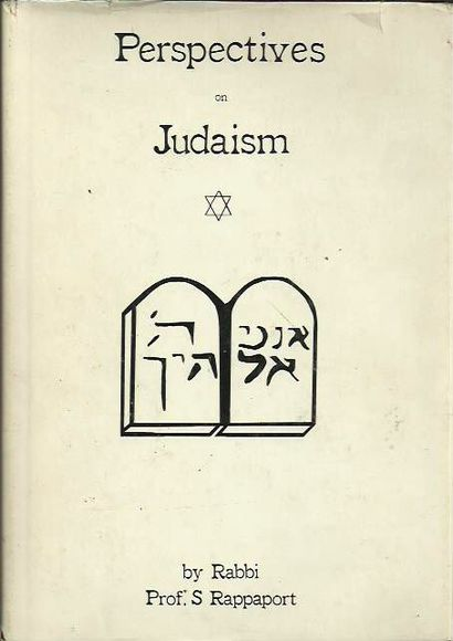 Perspectives in Judaism: Essays on Jewish Culture and Personalities