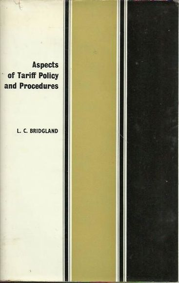 Aspects of Tariff Policy and Procedures