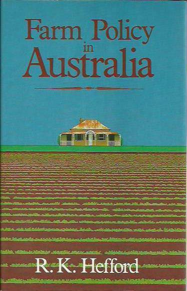 Farm Policy in Australia
