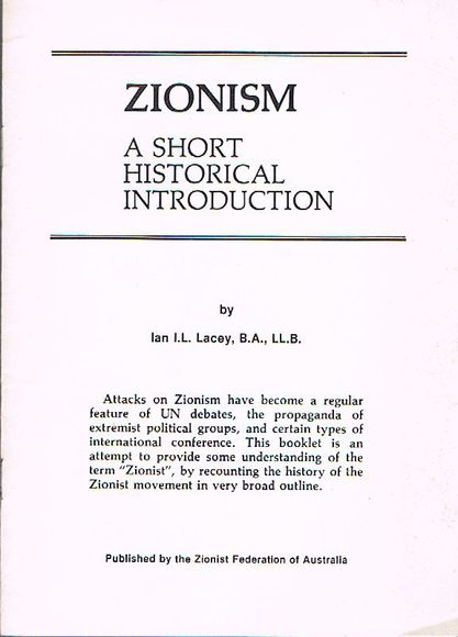 Zionism: A short historical introduction