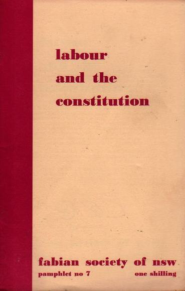 Labour and the Constitution