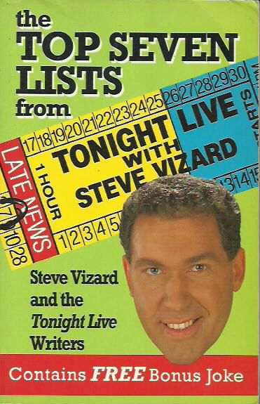 The Top Seven Lists from 'Tonight Live with Steve Vizard'