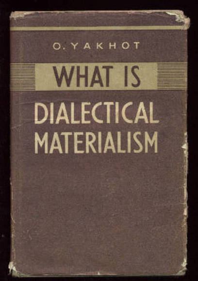 a description of the thought on materialism The study of marxism falls under three main headings, corresponding broadly to philosophy, social history and economics - dialectical materialism, historical materialism and marxist economics.
