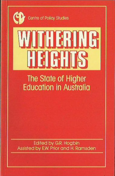 Withering Heights: The State of Higher Education in Australia