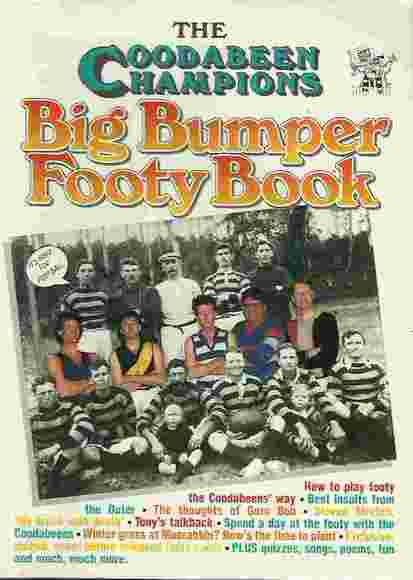 The Coodabeen Champions Big Bumper Footy Book