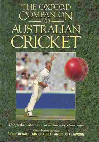 The Oxford Companion to Australian Cricket