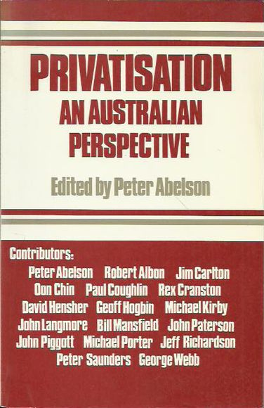 Privatisation: An Australian Perspective