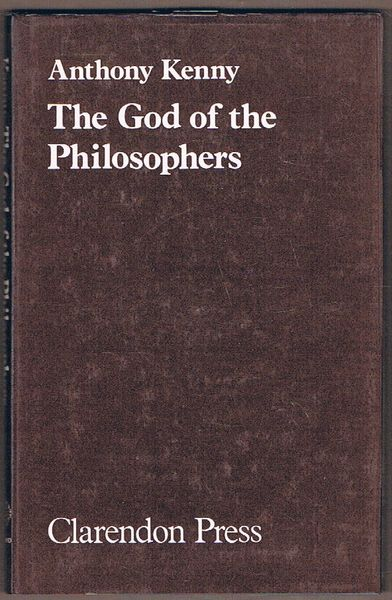 The God of the Philosophers