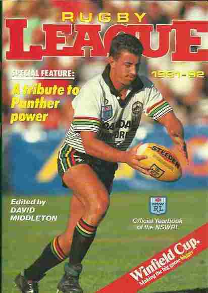 Rugby League 1991-92: Official Yearbook of the NSWRL