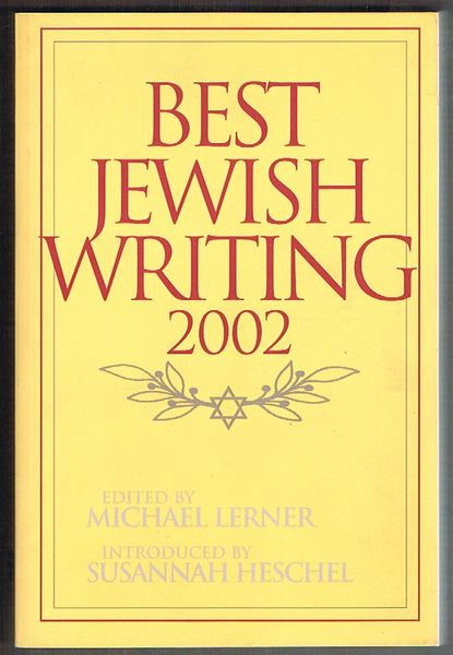 Best Jewish Writing 2002
