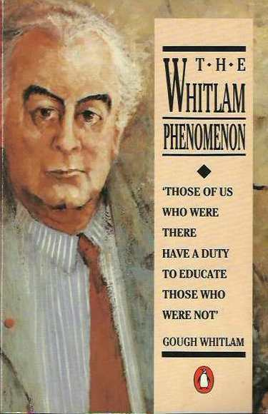 "whitlam government essay scaffold The occasion is the 40th anniversary of gough whitlam's ""it's while history is our scaffold on every table is a folder labelled ""messages for gough."