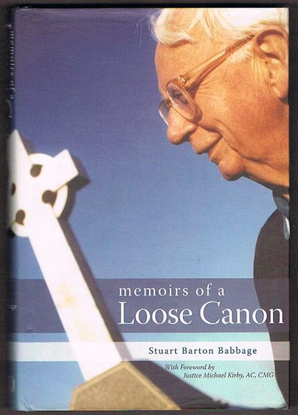 Memoirs of a Loose Canon. Signed