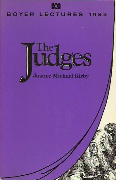 The Judges: The 1983 Boyer Lectures