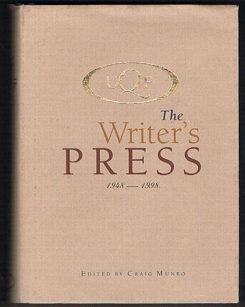 UQP: The Writer's Press: 1948-1998