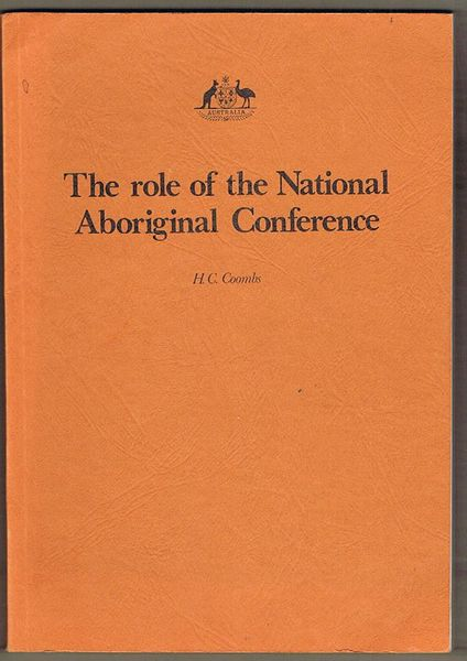 The Role of the National Aboriginal Conference