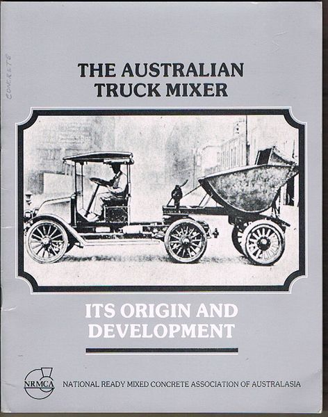 The Australian Truck Mixer: Its origin and development