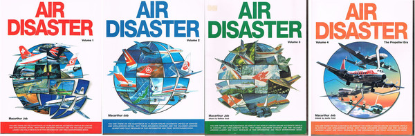 Air Disaster. Volumes 1, 2, 3 and 4