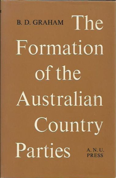 The Formation of the Australian Country Parties
