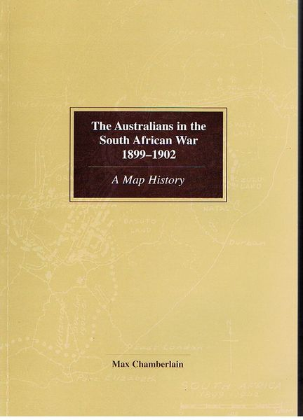 The Australians in the South African War 1899-1902: A map history
