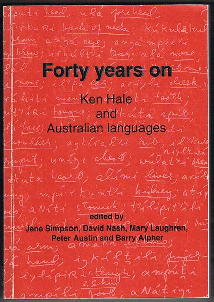 Forty years on: Ken Hale and Australian languages
