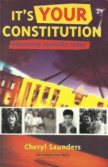 It's Your Constitution: Governing Australia Today