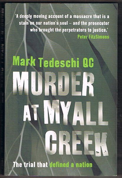 Murder at Myall Creek