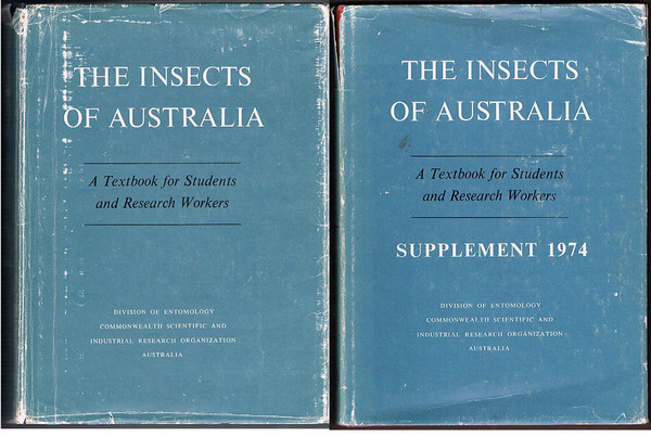 The Insects of Australia: A Textbook for Students and Research Workers. Includes Supplement 1974