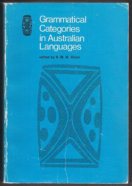 Grammatical Categories in Australian Languages
