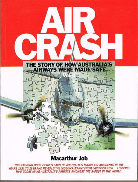 Air Crash: Volume 1, 1921-39