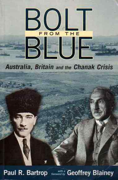 Bolt from the Blue: Australia, Britain and the Chanak Crisis
