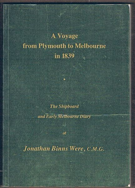 A Voyage from Plymouth to Melbourne in 1839