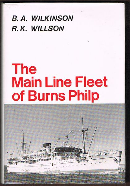 The Main Line Fleet of Burns Philp