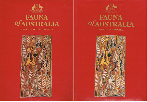 Fauna of Australia. Volume 1A: General Articles and Volume 1B: Mammalia