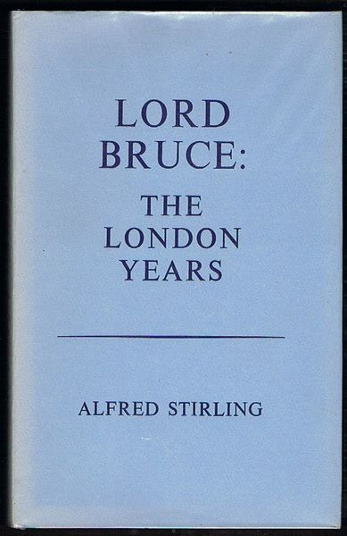 Lord Bruce: The London Years