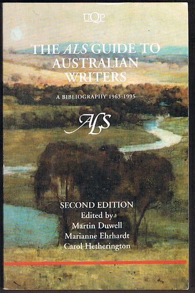 The ALS Guide to Australian Writers: A Bibliography 1963-1995