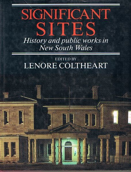 Significant Sites: History and Public Works in New South Wales